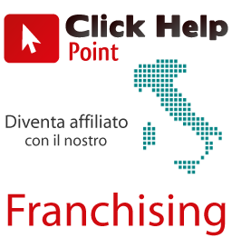 Diventa affiliato franchising Clickhelp Point